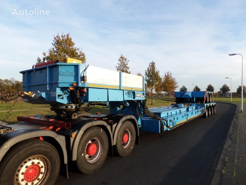GOLDHOFER EURO-91-24 / 2+4 Tankbed Low Loader dieplader oplegger