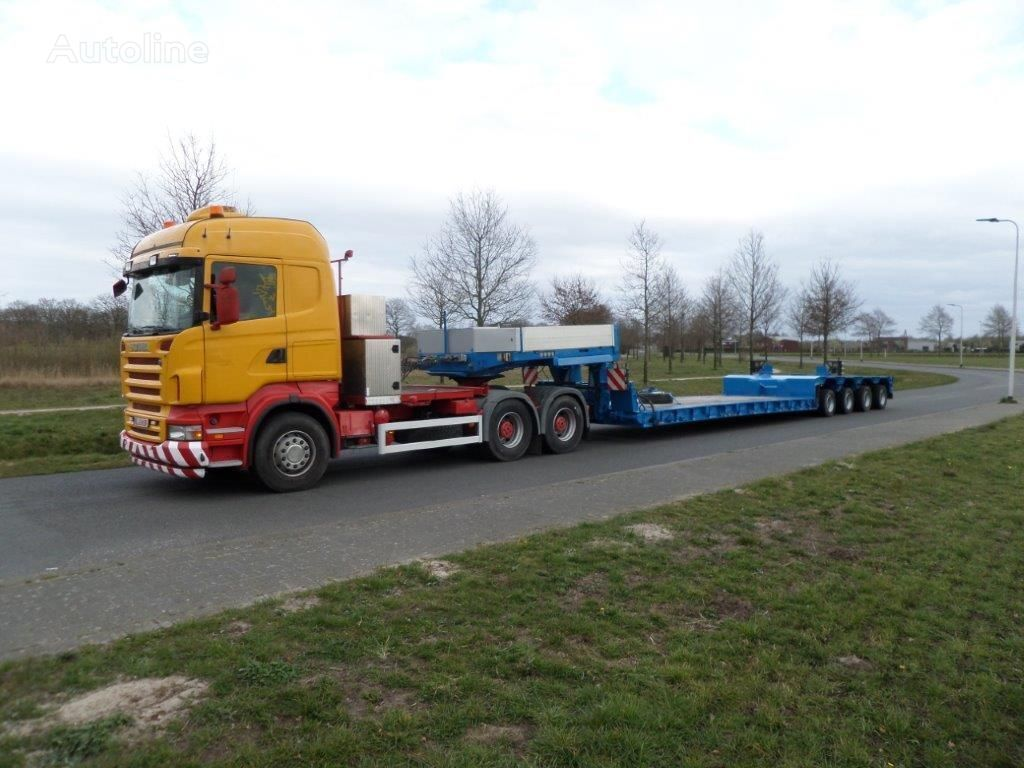 GOLDHOFER STZ-VL4-43/80A Low Loader dieplader oplegger
