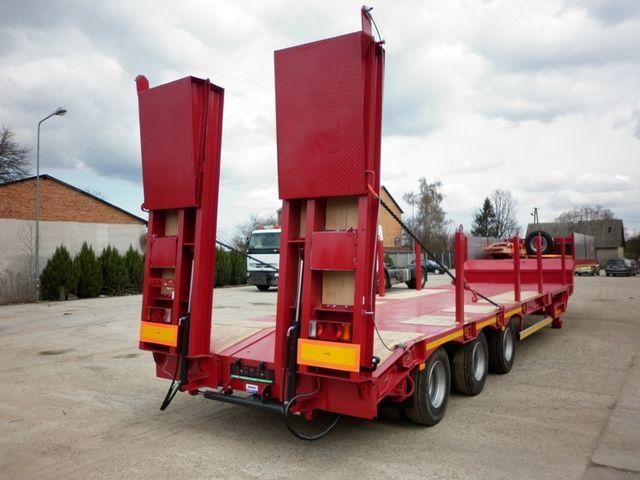 nieuw JANMIL  WABCO with ramps 30000 kg  dieplader oplegger