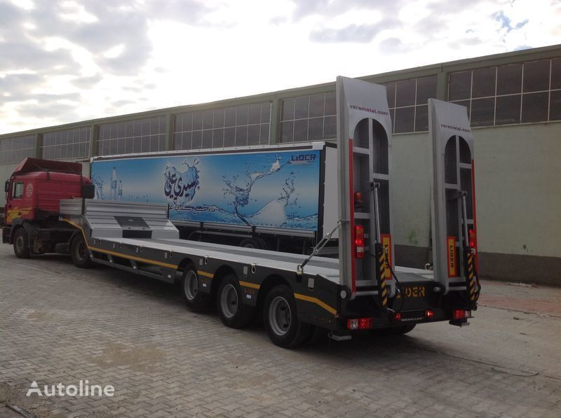 nieuw LIDER 2017 MODELS YEAR NEW LOWBED TRAILER FOR SALE dieplader oplegger