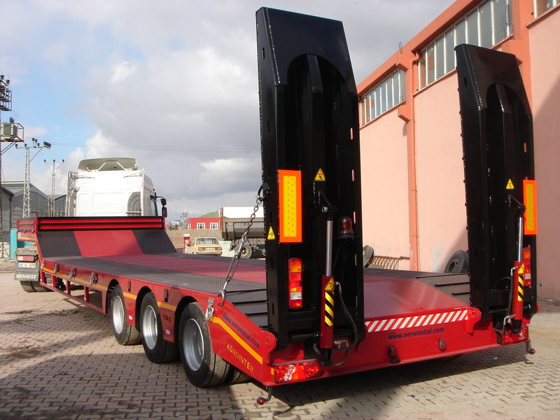 nieuw LIDER 2019 YEAR NEW LOWBED TRAILER FOR SALE (MANUFACTURER COMPANY) dieplader oplegger