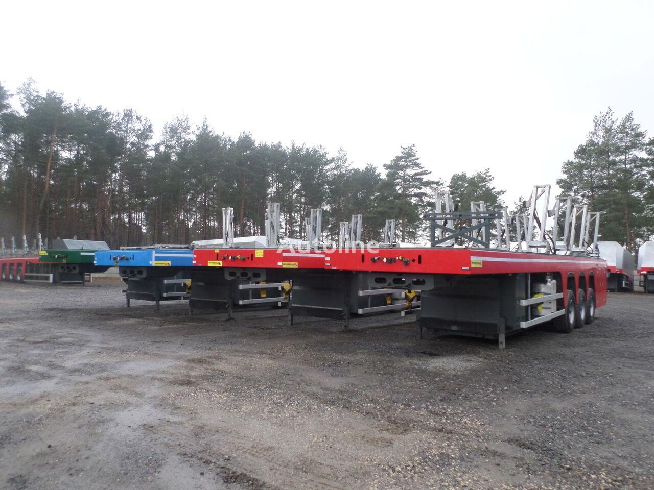 FAYMONVILLE Floatmax PV -3C do przewozu betonu, płyt betonowych INLOADER PRZ glastransporter oplegger