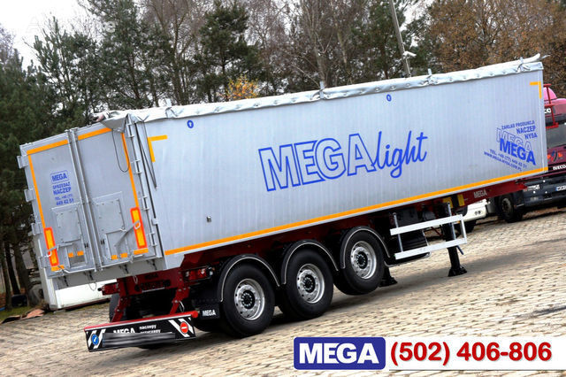 nieuw KARGOMIL 42 - 45 m³ Alubox - ULTRA - light only 5,800 kg weight ! READY T graantruck oplegger