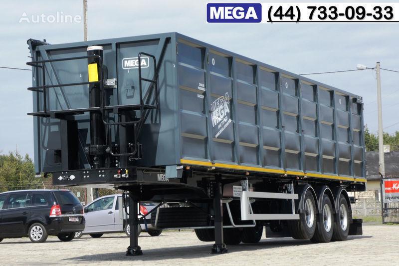 nieuw MEGA 11,4 m / V = 55 m³ ctalovyy kuzov klapan-dverey / Luk dla zerna! graantruck oplegger