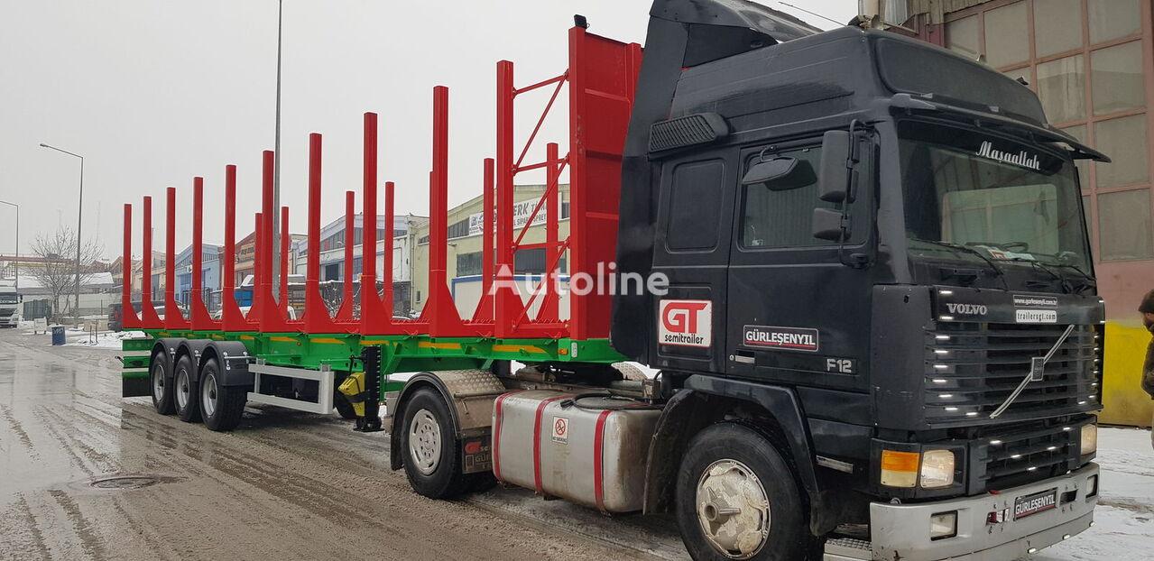 nieuw GURLESENYIL timber semi trailers houtoplegger