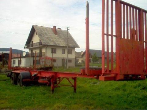 IWTHL SCHLUTUP FS 4020 houttransport oplegger