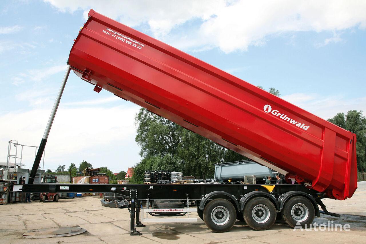 nieuw GRUNWALD Tipper semitrailer 50 cbm kipper oplegger