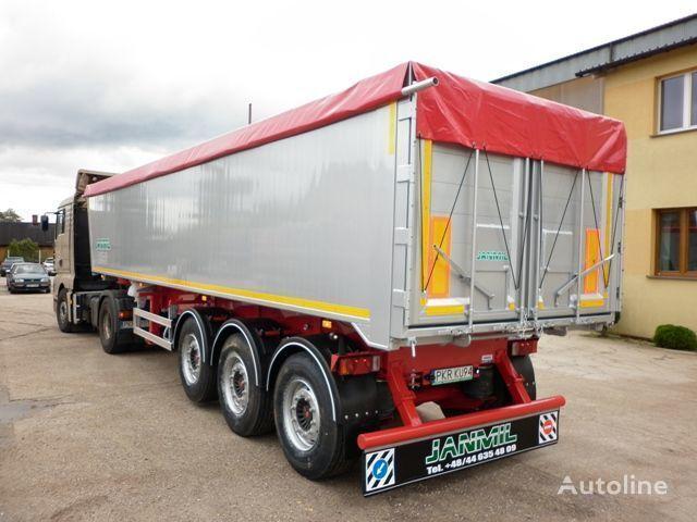 nieuw JANMIL 50 cbm ALU, SAF -LIGHT 5800 kg !!! kipper oplegger