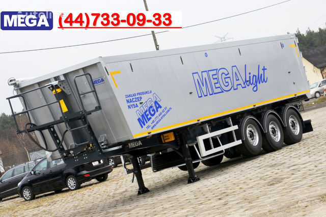 nieuw KARGOMIL 50 - 42 m³ SUPER LIGHT alu tipper 5,9T- READY TO TAKE !!! kipper oplegger