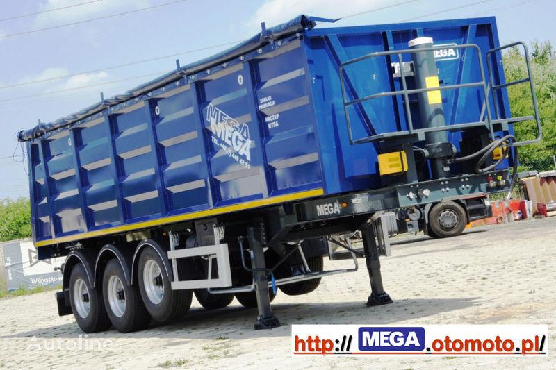 nieuw MEGA 2013 SALE !!! 33 M³ STAHL KIPPER MIT KLAPE = FUR Geröll & Bitume kipper oplegger