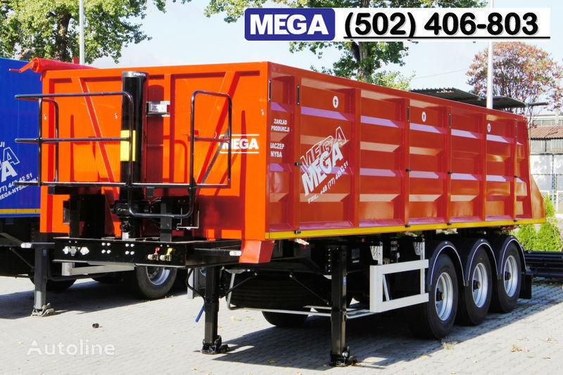 nieuw MEGA 28/8360 kcc - camosval 30 kub.m., pama k tyagachu 6x4, klapan! kipper oplegger