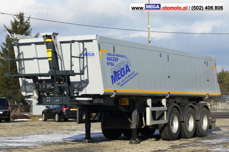 nieuw MEGA 30 m³ - SUPER LIGHT - 5,300 KG - SUPER PRICE !!! READY !!! kipper oplegger