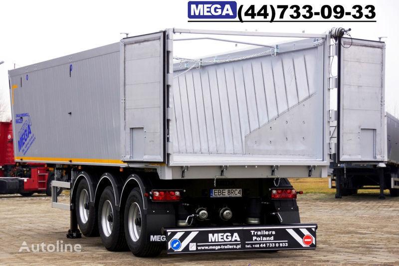 nieuw MEGA 39/8360KD- camosval 39 kbm, alyuminievyy, klapan-dverey GOTOV! kipper oplegger