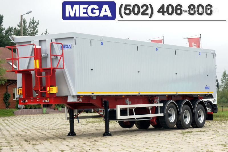 nieuw MEGA 50/11300 KD - camosval 50 kub., pama k tyagachu 6x4, VYSOTA 3,00 m kipper oplegger