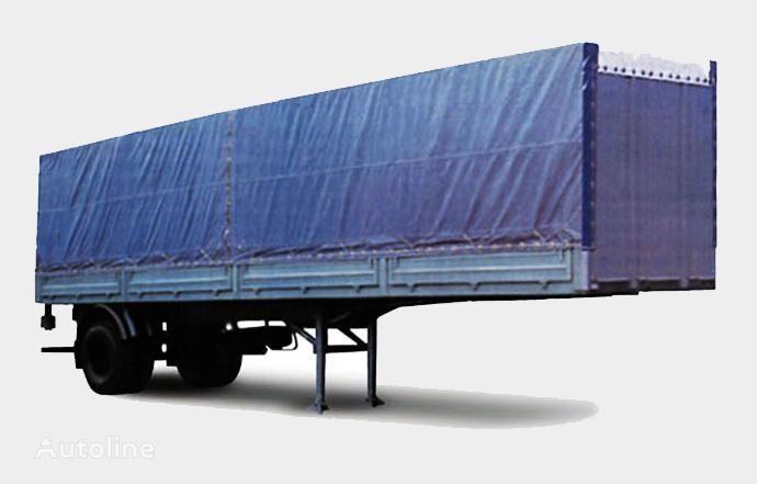 nieuw MAZ 938020 open laadbak oplegger