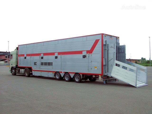 nieuw PEZZAIOLI SBA31 1+2 vee oplegger