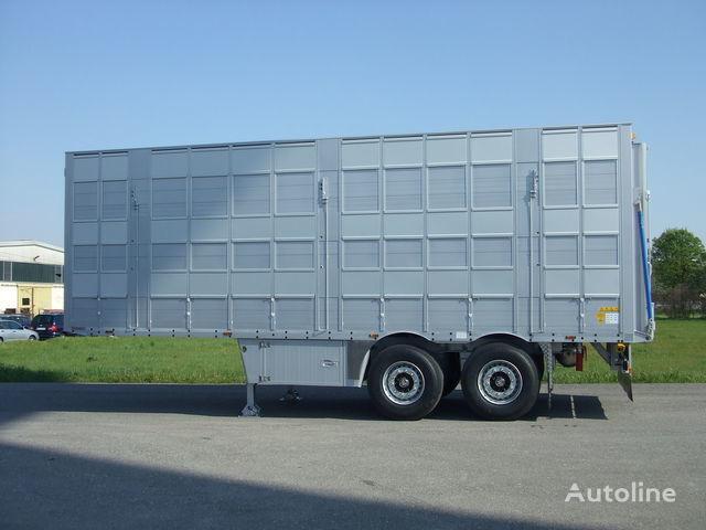 nieuw PEZZAIOLI SBA53 3 etazha zagruzki veetransport oplegger