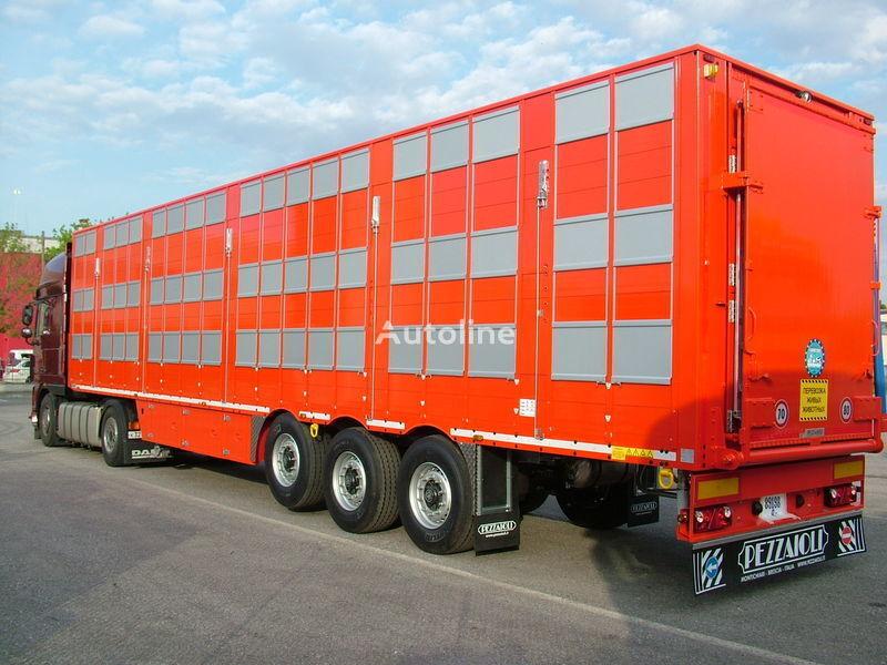 nieuw PEZZAIOLI SBA63 3 etazha zagruzki veetransport oplegger