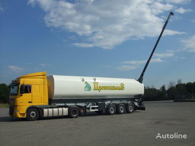nieuw PEZZAIOLI SCT63N silo tankoplegger