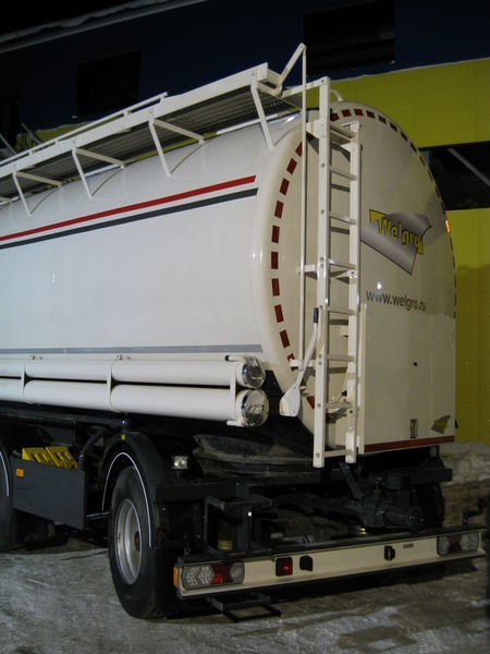 nieuw WELGRO 97WSL4332 silo tankoplegger