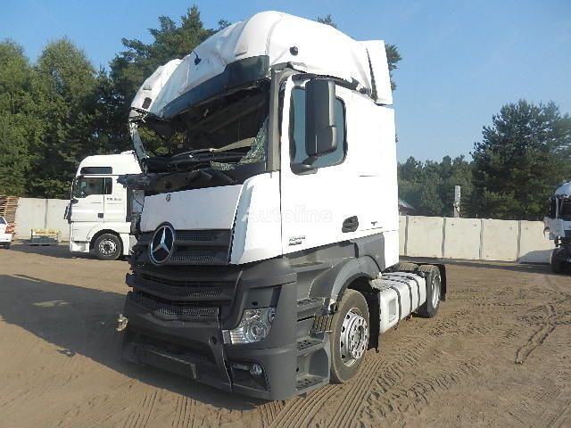 Beschadigde MERCEDES-BENZ ACTROS 1845 MP4 2012r. MEGA LOW DECK trekker