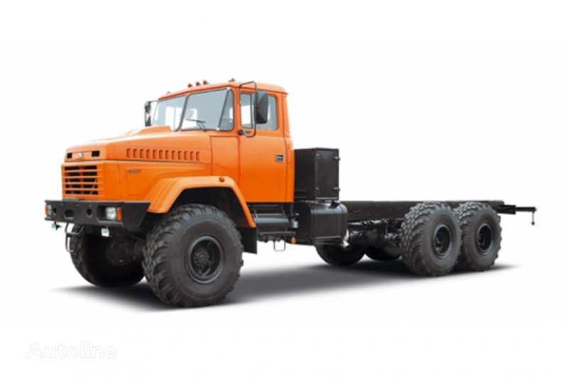 KRAZ 63221 tip 3 chassis truck