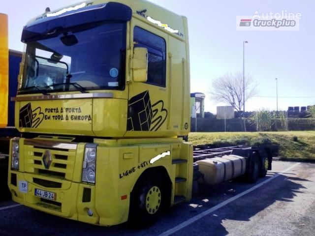 RENAULT MAGNUM 440 chassis truck