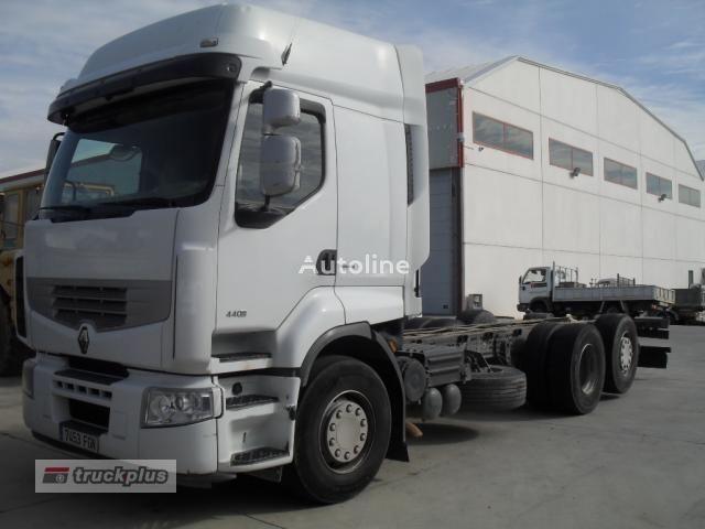 RENAULT PREMIUM 440 chassis truck