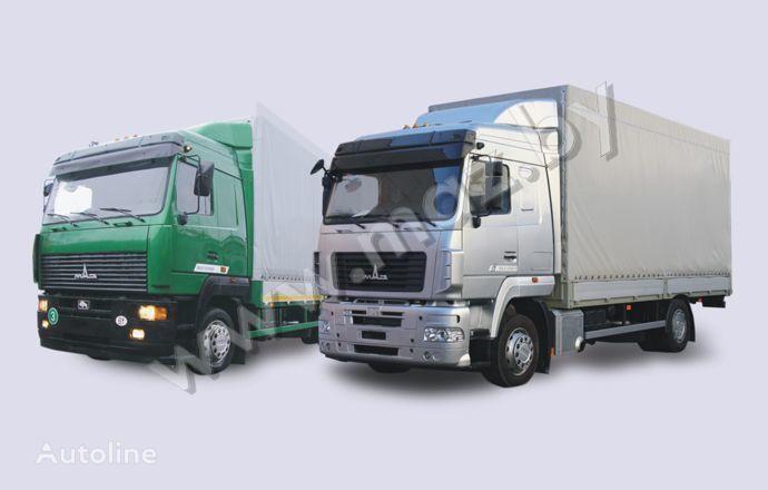MAZ 5340 (19, E9) huif truck