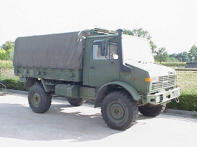 MERCEDES-BENZ UNIMOG 435/1300L huif truck