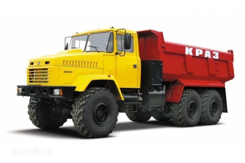 KRAZ 65032 tip 3  kipper