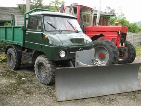MERCEDES-BENZ Unimog kipper