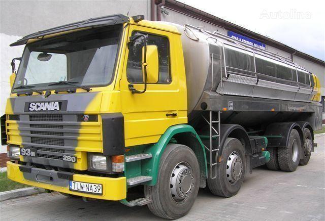 SCANIA 93M Cysterna Spożywcza melkwagen