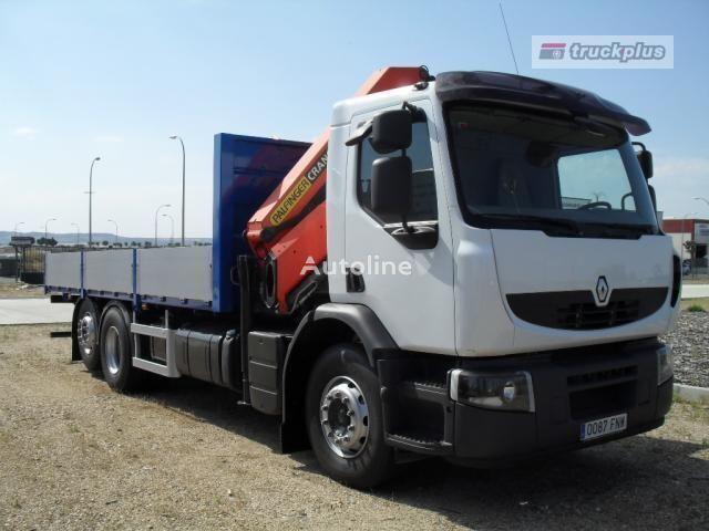 RENAULT PREMIUM 370 open laadbak truck
