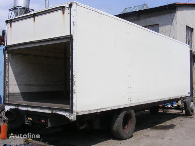 prachotěsná nástavba MONTEX open laadbak truck