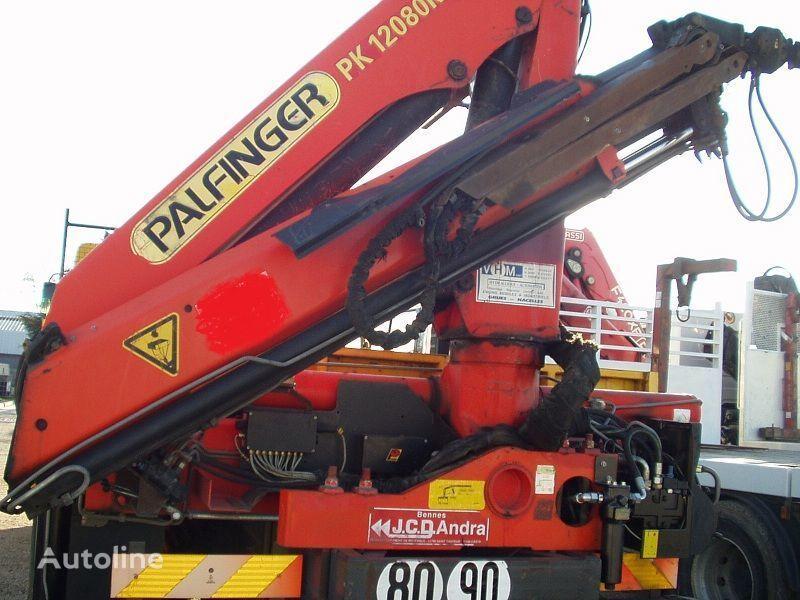 RENAULT KERAX 340 PALFINGER PK - 12080 platte bak