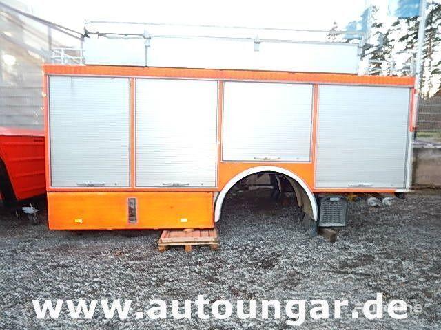 MERCEDES-BENZ Schlingmann Feuerwehr Aufbau m Rosenbauer Pumpe 24/8 gesloten opbouw