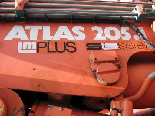 ATLAS 205.1 (Geramaniya) autolaadkraan