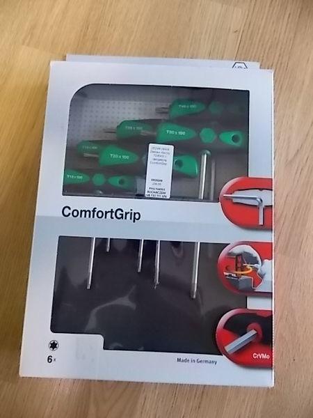 Zestaw kluczy TORX z rękojeścią ComfortGrip. automotive gereedschap