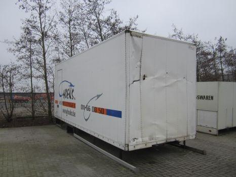 DIVERSE container gesloten opbouw