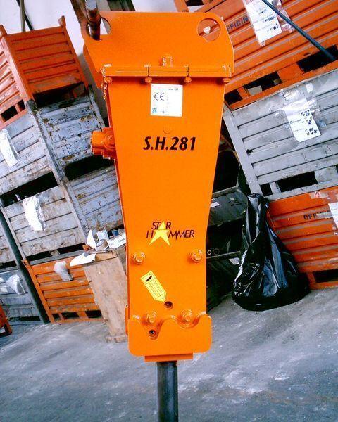 nieuw STAR Hammer G 281S hydraulische hamer