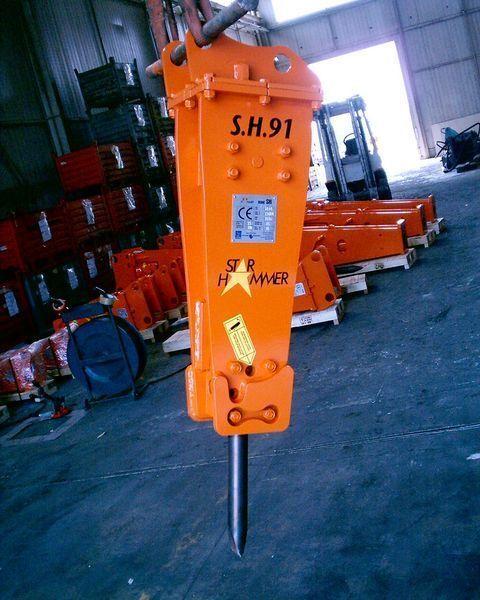 nieuw STAR Hammer SH 91 hydraulische hamer