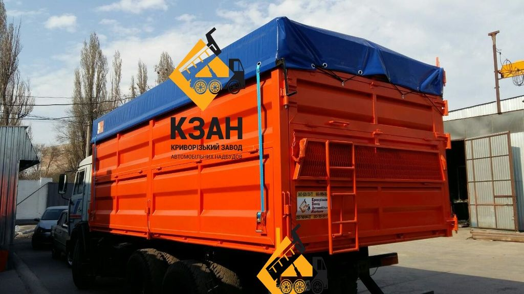 nieuw KAMAZ 5320 kipper opbouw