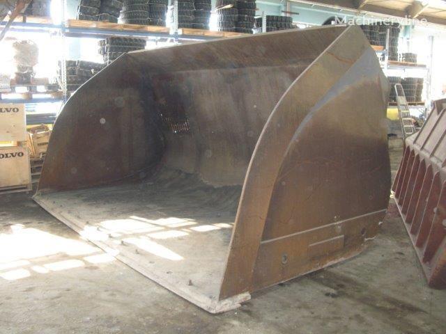 Light material bucket for coal voorladerbak