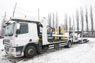 DAF CF 75 360 , E5 , 4x2 ,MEGA , LOHR , retarder , sleep cab  autotransporter + autotransporter aanhanger