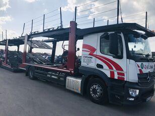 MERCEDES-BENZ Actros 1840 Euro 6 + Lohr CHR autotransporter + autotransporter aanhanger