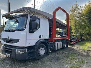 RENAULT Premium 460 EEV autotransporter + autotransporter aanhanger