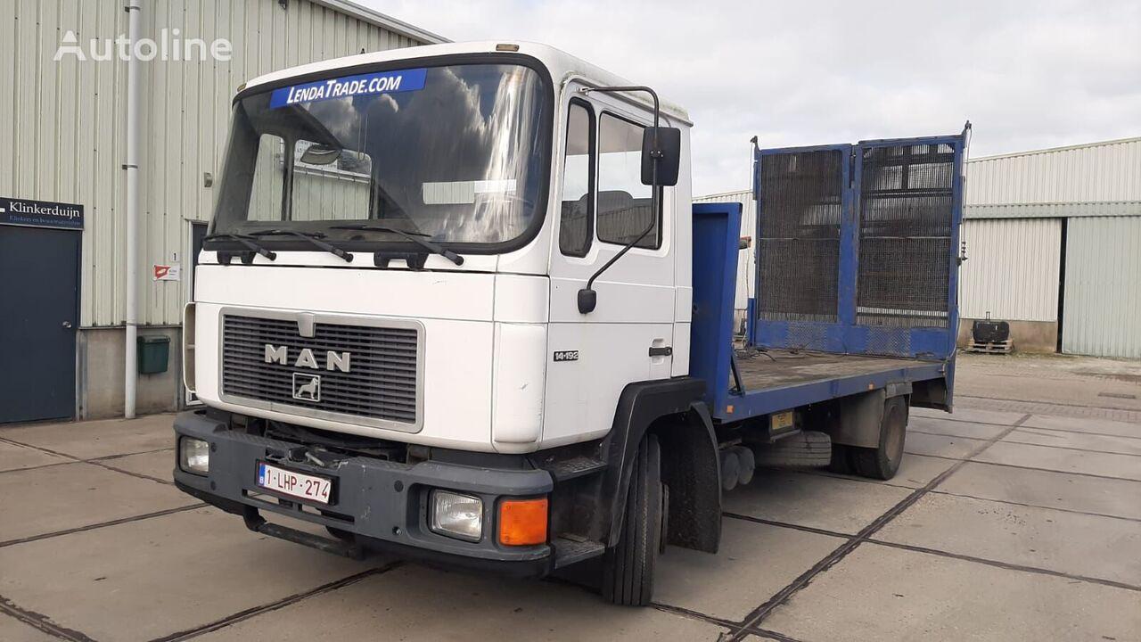 MAN 14.192*Machine Transport*Winch 15000 kg. autotransporter