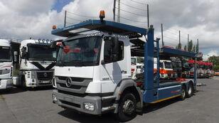 MERCEDES-BENZ 1829 6x2 autotransporter Kassbohrer Citytrans autotransporter