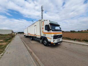 VOLVO FH12 380 bakwagen + aanhangwagen